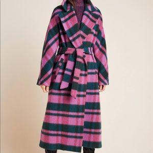 Beatrice Plaid Coat